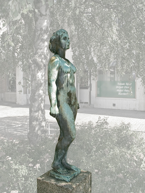 """Våren"", © Eric Grate/Bildupphovsrätt 2018. © Foto: Jan Peter Dahlqvist, 2004"
