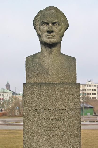 """""""Olof Wijk"""", Artur Johansson. © Foto: Svenrobert Lundquist"""