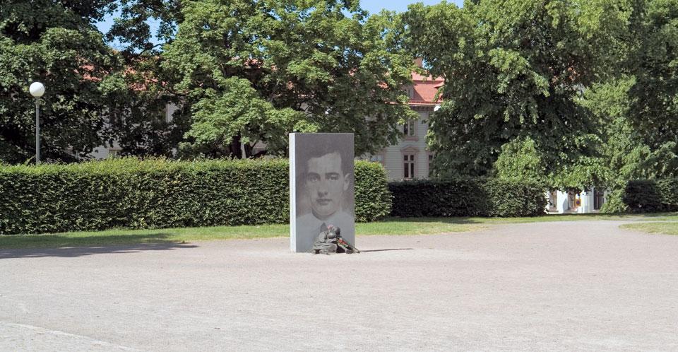 Minnesmärke - Raoul Wallenberg © Charlotte Gyllenhammar/Bildupphovsrätt 2018. © Foto: Jan Peter Dahlqvist, 2014