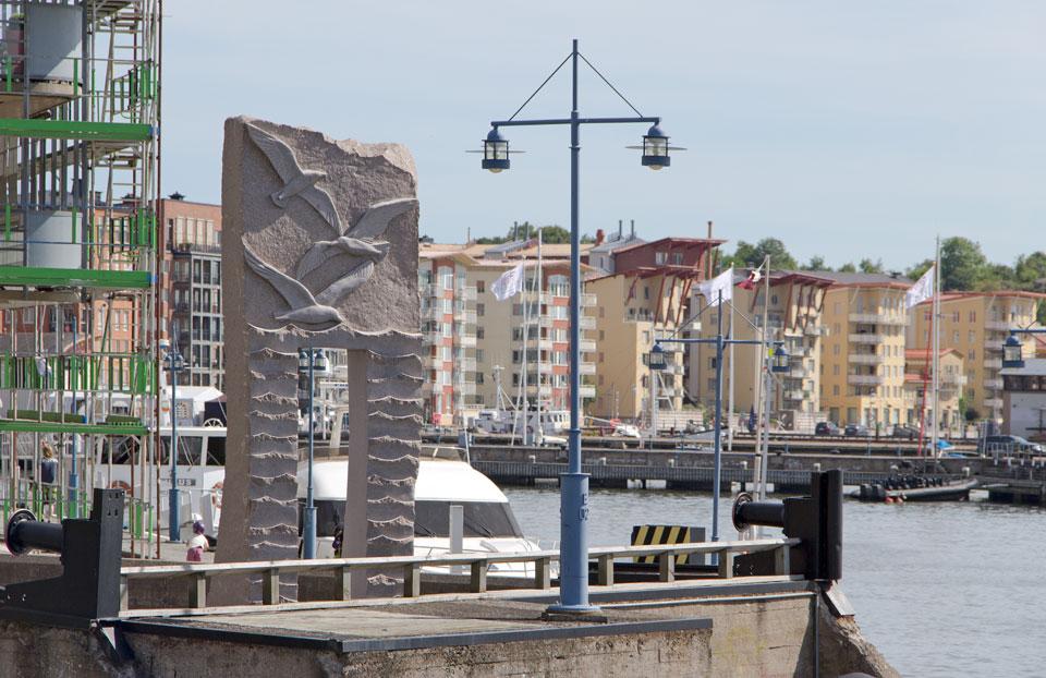 Havets port © Ivana Machackova/Bildupphovsrätt 2018. © Foto: Jan Peter Dahlqvist, 2014