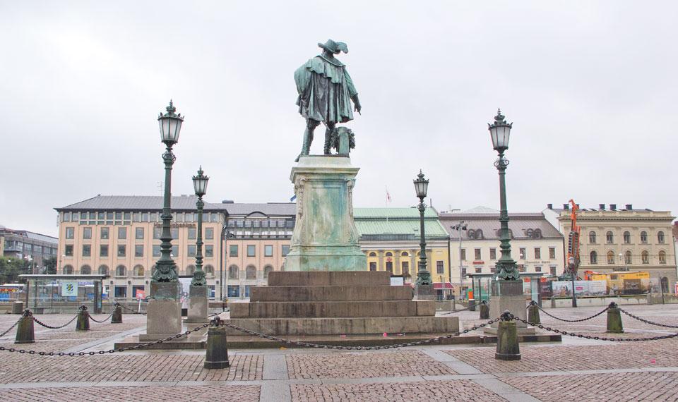 "Beng Erland Fogelberg, ""Gustaf II Adolf-statyn"". © Foto: Jan Peter Dahlqvist, 2016"