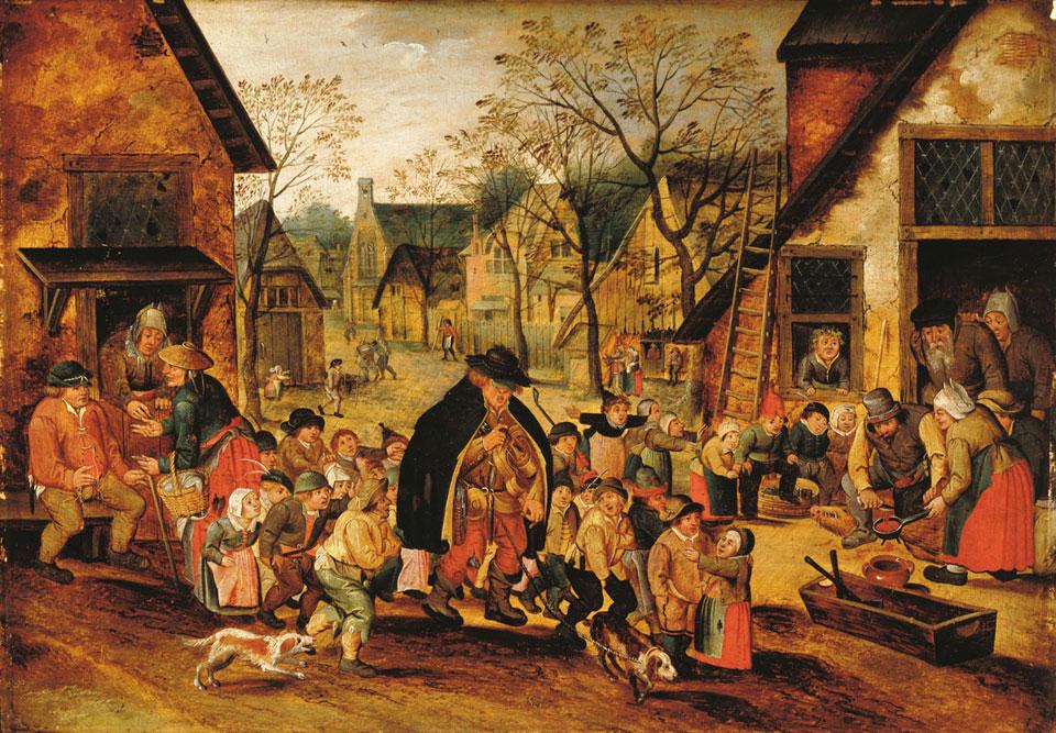 Målning av Pieter Bruegel