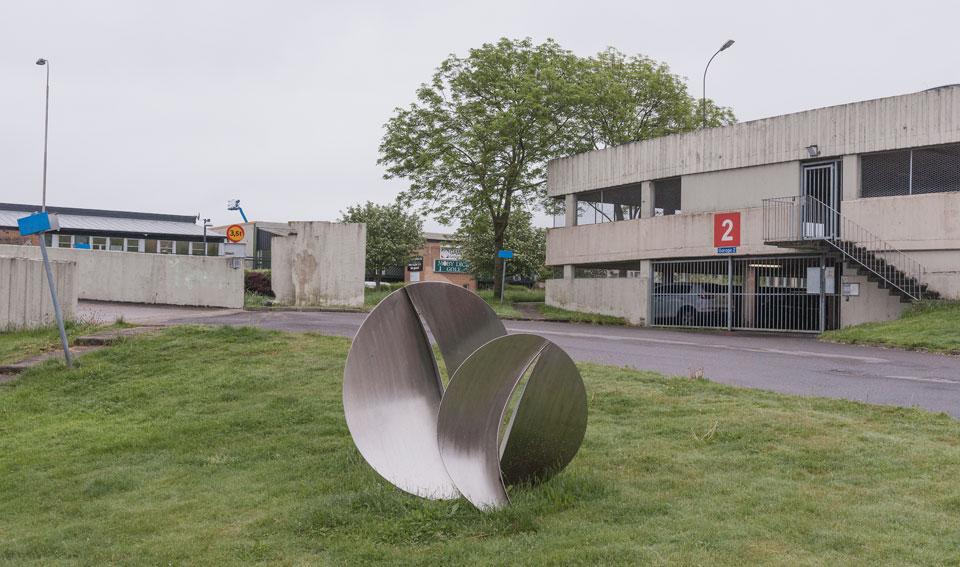 """© """"Spiral"""", Bertil Malmstedt/Bildupphovsrätt 2017. © Foto: Jan Peter Dahlqvist, 2017"""