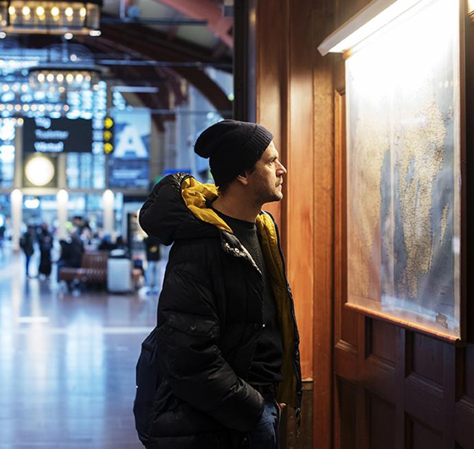 Ljudverk knyter samman Göteborgs Centralstations historia